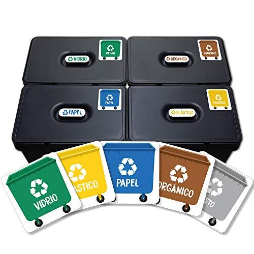 Haberdashery Online 5 Etiquetas Adhesivas Reciclaje