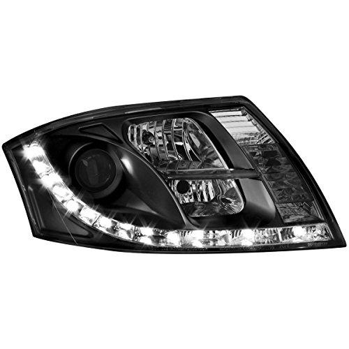 Tagfahrlicht Scheinwerfer Frontscheinwerfer SWA10LGXB schwarz Klarglas links rechts Satz