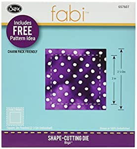 Sizzix 2 1/2-inch Bigz Die Square Finished, Multi-Colour