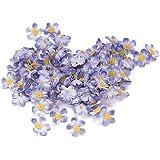 Knorr Prandell - Decorazione a 108 fiorellini nontiscordardimé, colore blu
