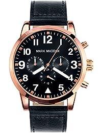 Mark Maddox HC3004-54 - Reloj de cuarzo para hombre, correa de poliuretano color negro