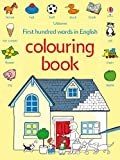 First 100 Words Colouring Book (Usborne First Hundred Words)