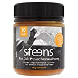 Steens Raw Manuka Honey UMF 10 (MGO 263) 340g | Pure Unpasteurized NZ Honey | With Naturally Occuring Enzymes and Beebread