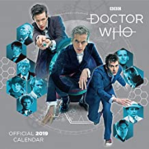 Doctor Who Classic Edition Official 2019 Calendar - Square W