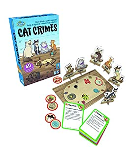 ThinkFun - Cat Crimes (Ravensburger 76367)