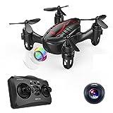 DROCON HACKER Drone– Ferngesteuerte Micro Mini Drohne Quadrocopter mit 720P HD Kamera, Kopflosmodus, einfach trimmbar, 360 Grad Flip, so groß wie ein Daumen - Play For Fun