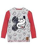 Disney Maglietta a Maniche Lunga per Ragazzi Topolino 2-3 Anni