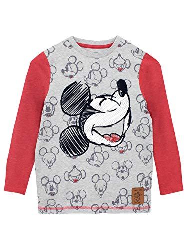 Disney Camiseta de Manga Larga para niños Mickey Mouse