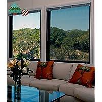 Decorazioni per finestre casa e cucina tendine tende classiche e drappeggi tende a pannello - Pellicola a specchio per finestre ...