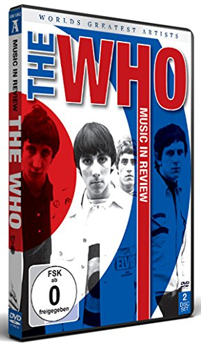 The Who - Worlds Greatest Artists: Music In Review [2 DVDs] Band In A Box 2012