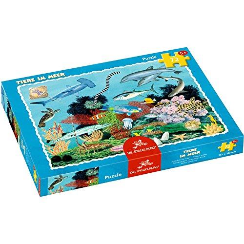 Spiegelburg 12703 Boxpuzzle animales en el mar (72 piezas)