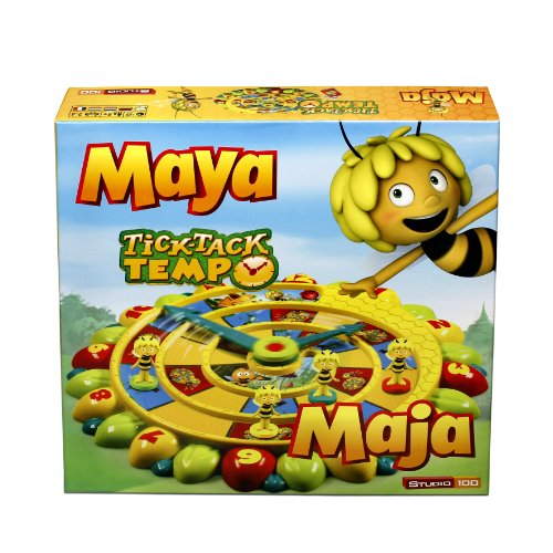 Preisvergleich Produktbild Studio 100 - MEMA00000080 - Die Biene Maja : Brettspiel Tick Tack Tempo