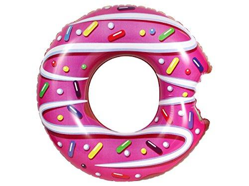 Donut Schwimmring XXL Mega Donut mit Biss 50-122 cm Schwimmreifen von Alsino, Variante wählen:P071001 Donut 50 cm