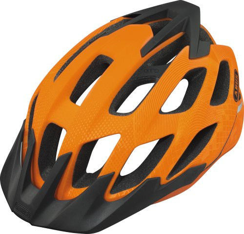 ABUS, Casco bicicletta Unisex Hill Bill, Arancione (signal orange), 54-58 cm