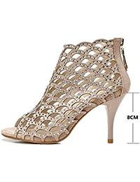 Single shoes - female Sandali da donna sexy con tacchi alti e scarpe da  sposa ( 05a8568d548