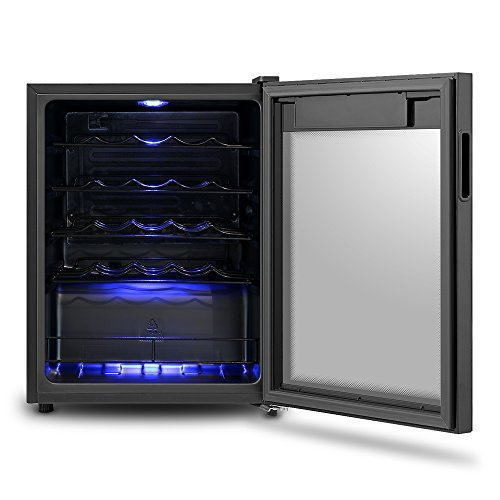 Vino Wine Cooler Class A 66L Fridge that holds up to 24 standard sized wine bottles
