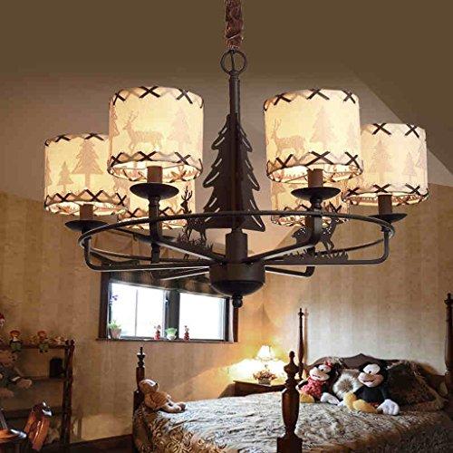 HOME American Style Rural Kronleuchter Junge Mädchen Kinderzimmer Schlafzimmer Lampen Europa Und Die Vereinigten Staaten Kunst Licht