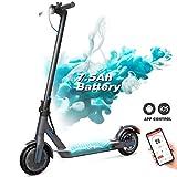 GeekMe Elektroroller, Faltbarer E-Scooter, Stadtroller mit LCD-Display / 7,5 A Li-Ion Akku/APP/Bluetooth/Ultraleichter Elektroscooter für Erwachsene