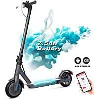 GeekMe Electric Scooter,Foldable Electric Scooter,City scooter with LCD display/7.5A Li-Ion battery/APP/Bluetooth/Ultra-Light Adult Electric Scooter