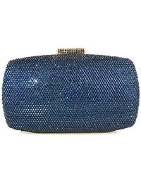 FZHLY Paquete de cena de diamantes de lujo caliente Night Club Bolso de noche de embrague para mujer Vestido de cheongsam Bolsa de…