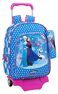 Safta Follow Your Heart Mochila Grande con Ruedas, Color Azul por Safta
