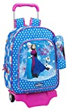 Safta Follow Your Heart Mochila Grande con Ruedas, Color Azul