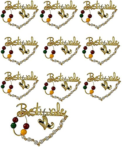 BETIWALE Brooch//Marriage//Wedding//Welcome your Baraatis and Guests with these unique Brooch (10)