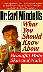 Dr. Earl Mindell's What You Should Know About Beautiful Hair, Skin and Nails by Earl Mindell (1996-06-01)