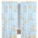 Kinderzimmer-Vorhang, 155x95cm (2 Stück) D19
