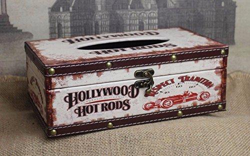 MQZM-MEICHEN Pelle di alta qualità di asciugamani di carta cassetto scatola multifunzionale scatola di fumo scatola di archiviazione storage wallet igienico box di tessuto per il viso