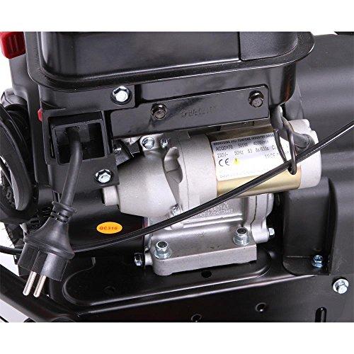 FUXTEC Benzin Schneefräse SF210 7,5 PS 230 Volt E-Starter Schneeräumgeräte - 3