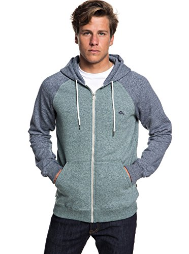 Quiksilver Herren Everyday Zip Fleece Top, Tapestry Heather, XL