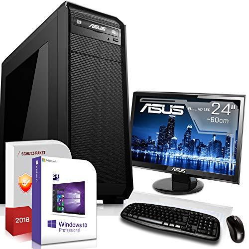 Win 10 Komplett Set Computer mit TFT Flachbildschirm 16 GB AMD FX 8350 8x4,2 GHz