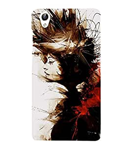 Vizagbeats girl hair Back Case Cover for Oppo F1 Plus