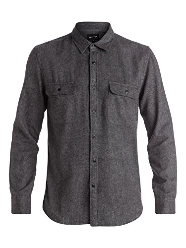 Quiksilver Le capitaine Woven Men Shirt Black