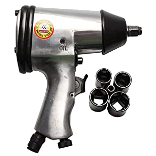 Aerotec Compressed Air Impact Wrench with 4 Nuts - Pack of 5 9045226