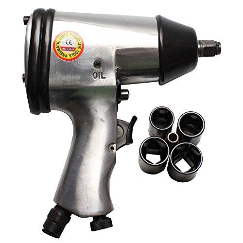 Aerotec Schlagschrauber Druckluft mit 4 Nüssen, 5 Stück, 9045226
