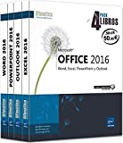 Pack 4 Libros: Word, Excel, Powerpoint Y Outlook. Microsoft Office 2016