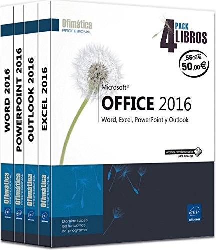 pack-4-libros-word-excel-powerpoint-y-outlook-microsoft-office-2016
