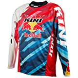 Kini Red Bull Competition Pro - Maillot manches longues - rouge/bleu Modèle XL 2017 tee shirt manches longues homme