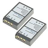2x CELLONIC® Batería premium para Olympus Stylus 1 OM-D E-M10 Mark III E-450 Pen E-PL5 BLS-5 Pen E-PM2 Pen E-PL6 (900mAh) BLS-5,BLS-50 bateria de repuesto, pila reemplazo, sustitución