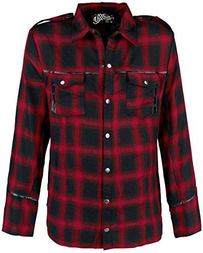 Vixxsin Corner Camicia nero/rosso S