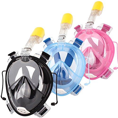 Schnorchelmaske Schnorchel Taucherbrille Tauchermaske für GoPro Kamera
