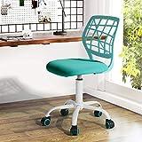Silla de escritorio Fanilife, ajustable y giratoria sin brazos de diseño, para niños, silla para el...
