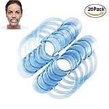 KAIMENG Dental C-Type Wangenhalter C-förmige Blau Zähne Dental C-Type Clear Cheek Retractor Mouth Lip Opener -20ST (Blau)