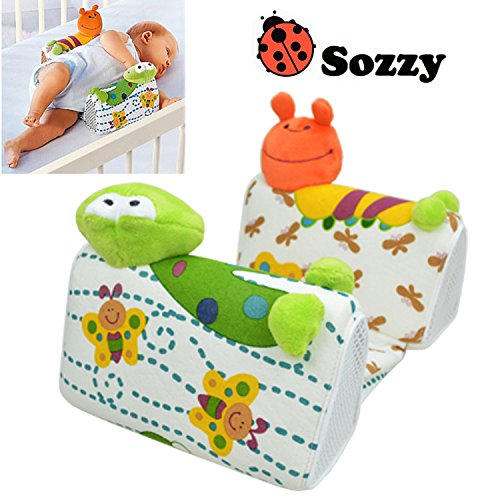 Baby Pillow to Sleep Sozzy Anti - roll Sleep Positioner Fixed Newborn Toddler Adjustable Support System