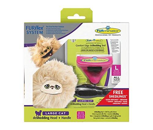 Furminator furflex, Cepillo Cuidado Pelo Grandes Gatos