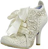 Irregular Choice Abigail's Third Party, Damen Stiefel, Weiß - cremefarben - Größe: 39 EU