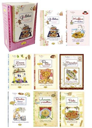 Estuche Cuadernos de cocina (8 títulos)