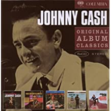 Original Album Classics : The Fabulous Johnny Cash / Hymns by Johnny Cash / Songs of our Soil / Ride this Train / Orange Blossom Special (Coffret 5 CD)